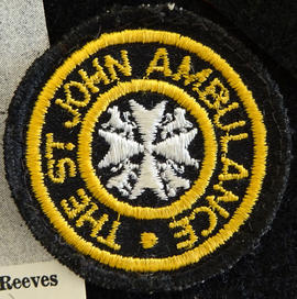 St John's Ambulance badge