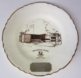 125th Anniversary Plate from Innisfil