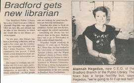 Bradford gets New Librarian