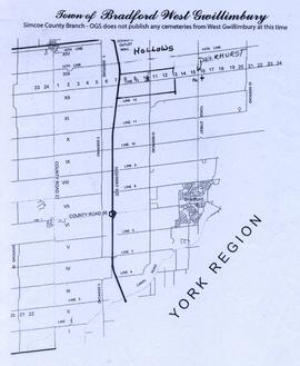 Map of Hollows and Deerhurst
