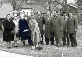 Sod Turning of the Library