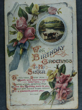 Birthday Card to Ella Adair