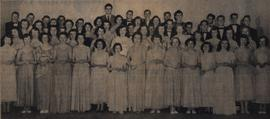 Bradford District High School choral group 1954