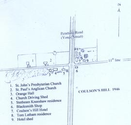 Map of Coulson's Hill